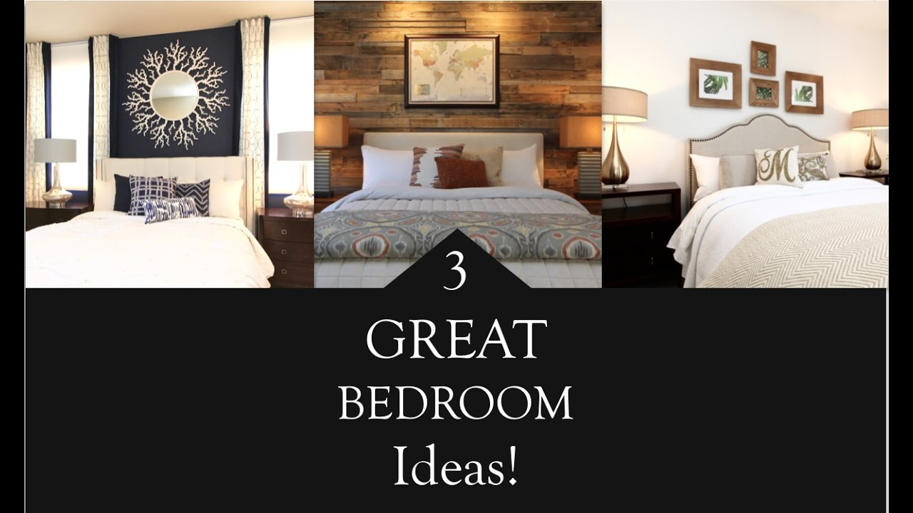 Interior design 3 great bedroom design ideas for 3 bedroom interior design