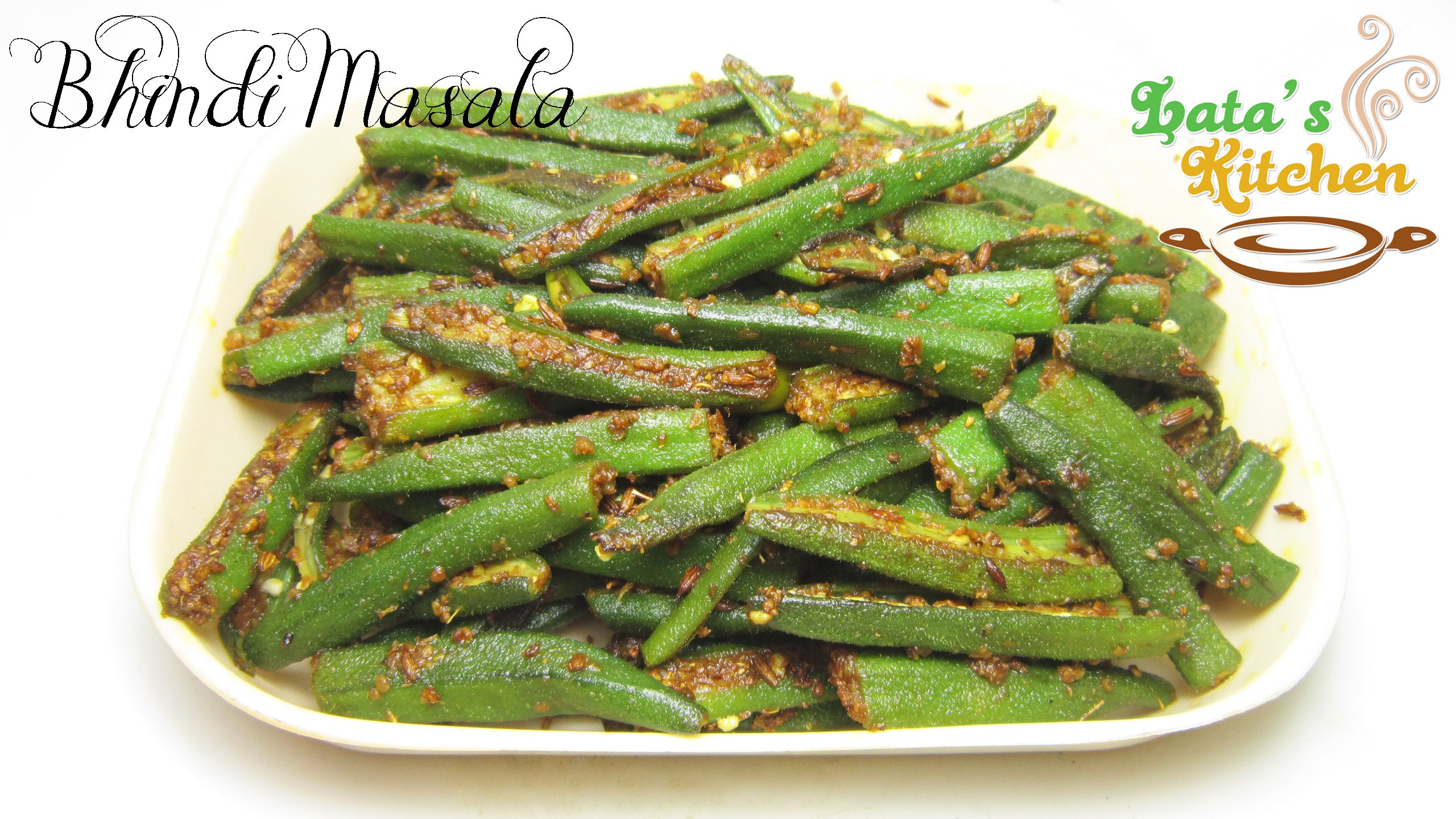 Bhindi masala recipe okra masala indian vegetarian recipe in bhindi masala recipe okra masala indian vegetarian recipe in hindi with english subtitles video perfectlifestylefo news for a perfect life forumfinder